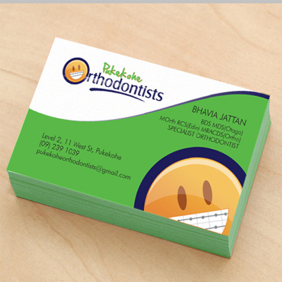 Standard business cards express printing inc standard business cards reheart Images
