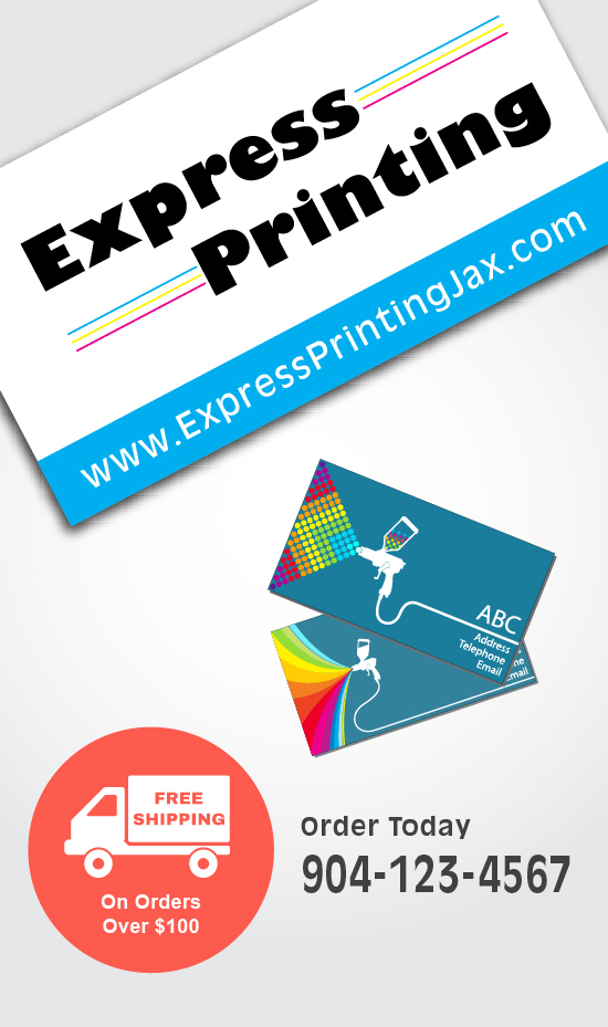 Standard business cards express printing inc reheart Gallery